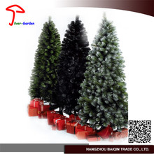 Customized Made Customized Artificial Flocked Christmas Trees