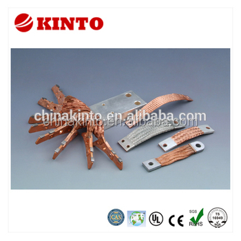 Professional flexible copper braid connector