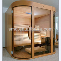 smartmak hot selling 2015 new products traditional steam sauna room, finnish spa sauna for sale SMT-034LHT
