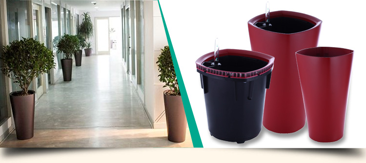 2017 hot style self watering planter