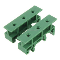 High quality 1 set of Simple PCB Circuit Board Mounting Bracket For Mounting DIN Rail Mounting 2x Adapter+4x Screws