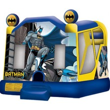 newest design batman inflatable bouncer jumper/ jumping bouncy castle/ moon bounce house with slide