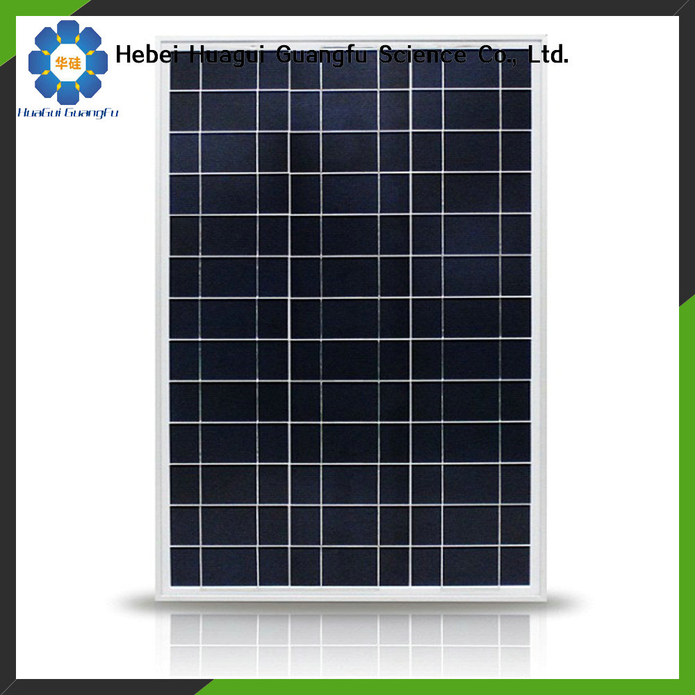 China Hebei HuaGui India market 130w poly solar module price