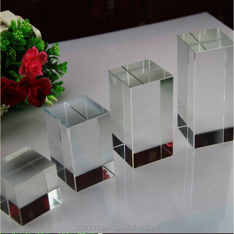 wholesale customized K9 Blank Crystal For Laser Engraving