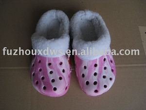 women winter eva clogs