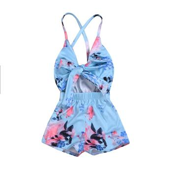 boutique baby clothes girls clothing sleeveless print baby romper