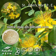 High Quality St John's Wort Extract Hypericin 0.3% 0.5% Powder