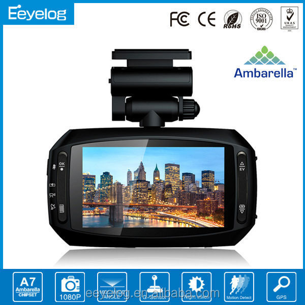 ambarella a7la70 dash camera 6 ir led vehicle car camera dvr video recorder