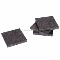 Set of 4 Granite Coasters Set