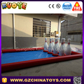 2017 giant inflatable human bowling game for adult