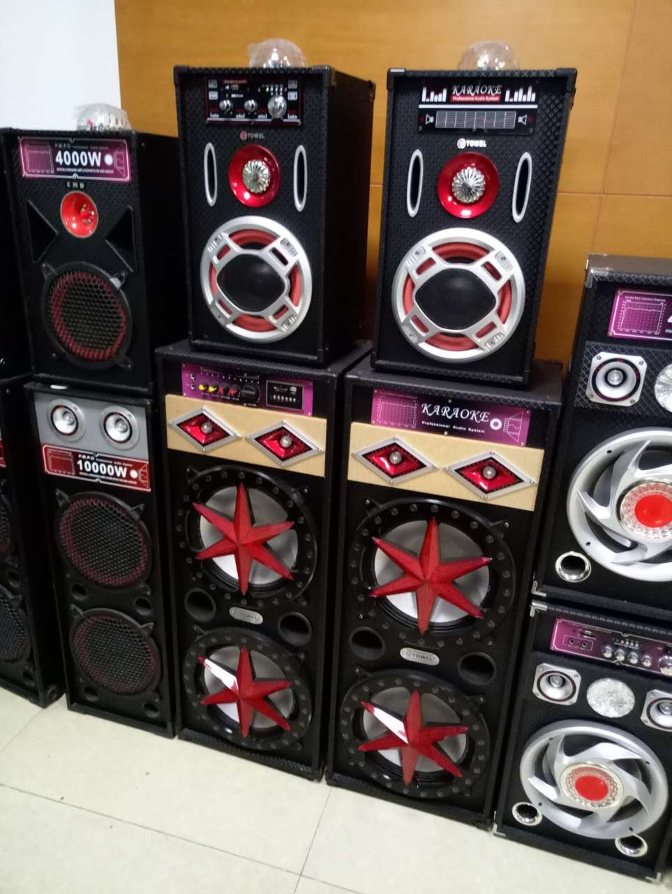New Design Enjoy Music Stage Speaker With USB Input Bluetooth Speaker Subwoofer
