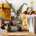 Vegetable fruit bag new design washable paper lunch bag
