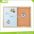Multi-functional double sided combo memo board