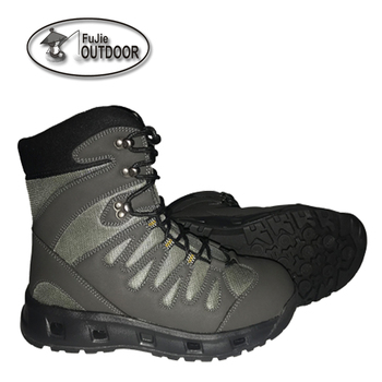 Fly Fishing faster drains wading boots