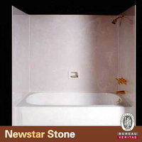 Newstar cultured marble tub surrounds
