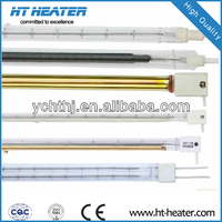 HT-IR ROHS certificate far radiant heating element 240v 500w quartz heater tube