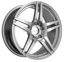 18X8.5INCH Wholesale Factory price Aluminum Alloy White Car Wheel Rims, OEM Design 1-3 Piece Forged Wheel