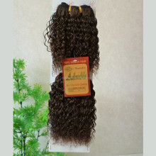 Adorable100 human hair extension hair weave bebe curl weave