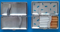 Design professional plastic e cigarette case