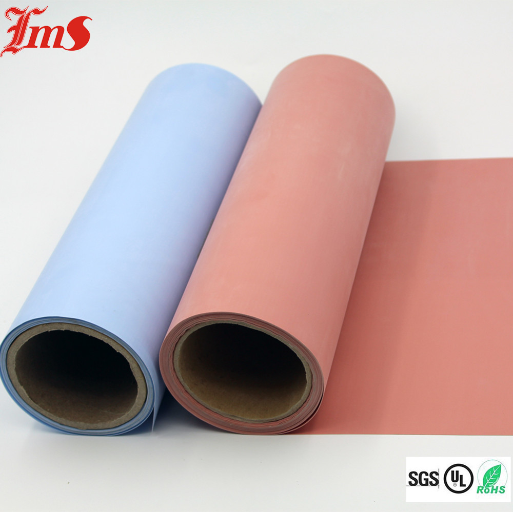 High Temperature Colored Fireproof Silicone Rubber Coated Fiberglass Cloth