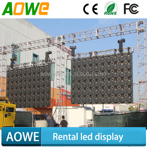 Concert moveable P5 outdoor rental led display with competitive price