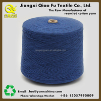 Free sample,OE, Carded, Recycled 70% cotton blended 30% polyester yarn for weaving