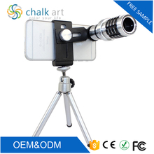2017 most popular hot sale 12x universal mobile phone camera android zoom lens with best quality and low price