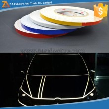 PVC Clear Reflective Tape Stripes for Sticker on Car Body ,Bicycle,Motorcycle