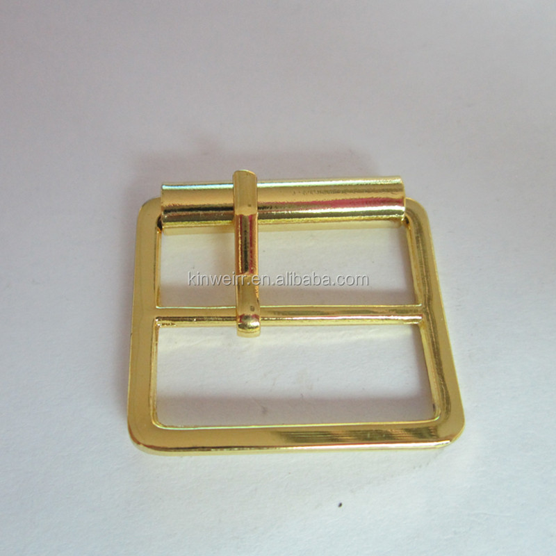 Beautiful gold color shoes accessories pin metal buckles for shoes