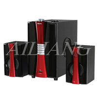 AILIANG FAMOUS SOUND SYSTEM 2.1 multimedia audio USBFMF28