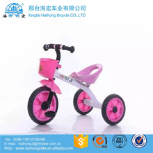 360 turning seat baby children trike with music &light / sporty pedal baby trolley three wheels /baby tricycle rubber wheel