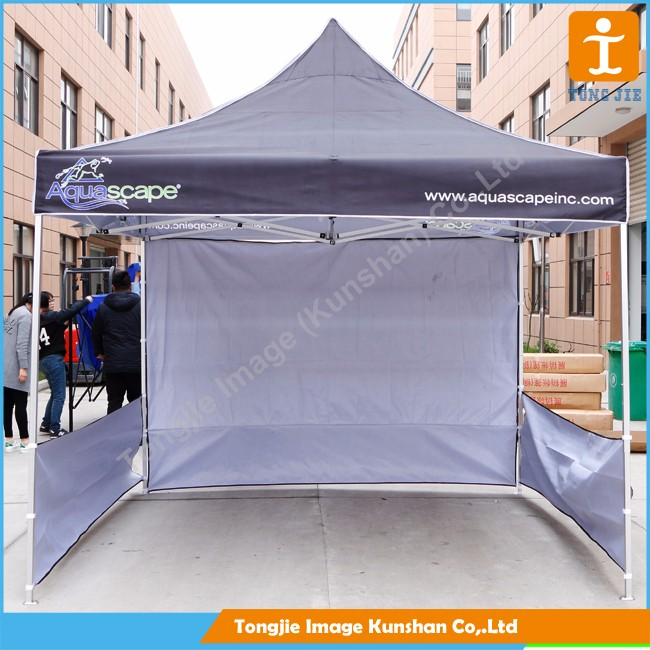 3x3m easy up cheap steel frame pop up canopy folding tent