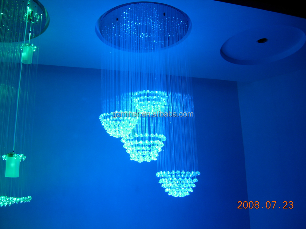 Crystal Fiber Optic Light End Fitting EP-041 for Chandelier and Curtain