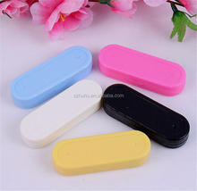 New Brand Solid Women's Contact Lens Inserter Remover Soft Tip Holding Tweezer Holder Contact Lens Case