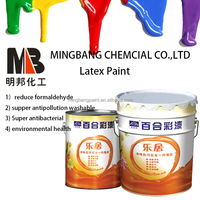 House inner wall coating latex paint