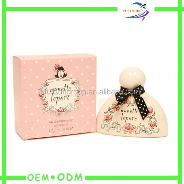 Guangdong Factory Newest Design Fashion Small Fragrance Perfume Box