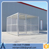 Large outdoor strong hot sale strong galvanized dog kennel/pet house/dog cage/run/carrier