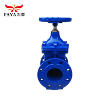Non-rising stem soft seat venting manual slide italy gate valve
