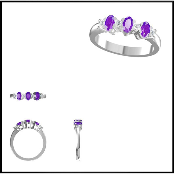 3d cad cam jewellery models for rings