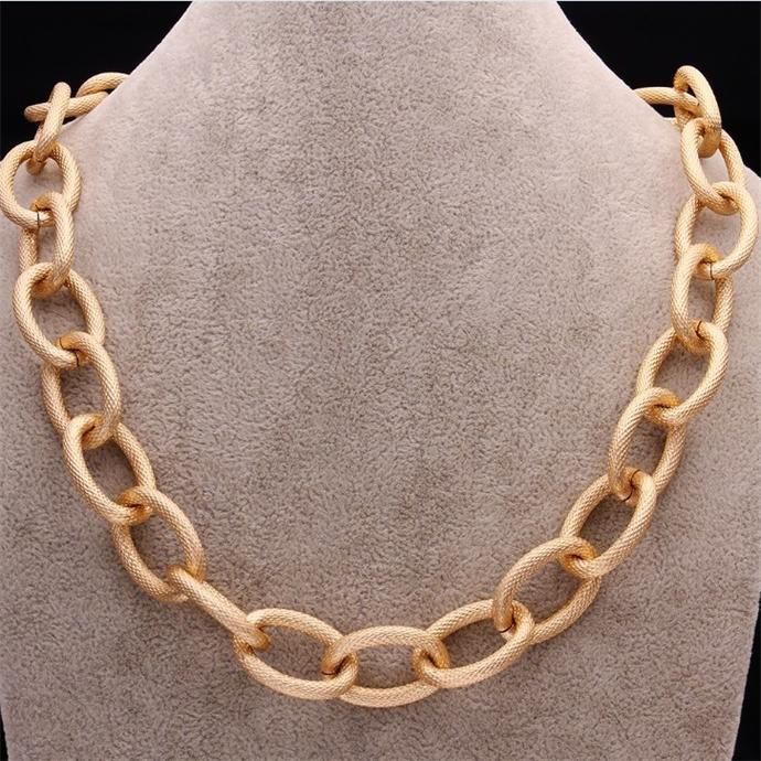 The latest models of gold filled jewelry chains fashion necklace 2014, gold necklace ally express