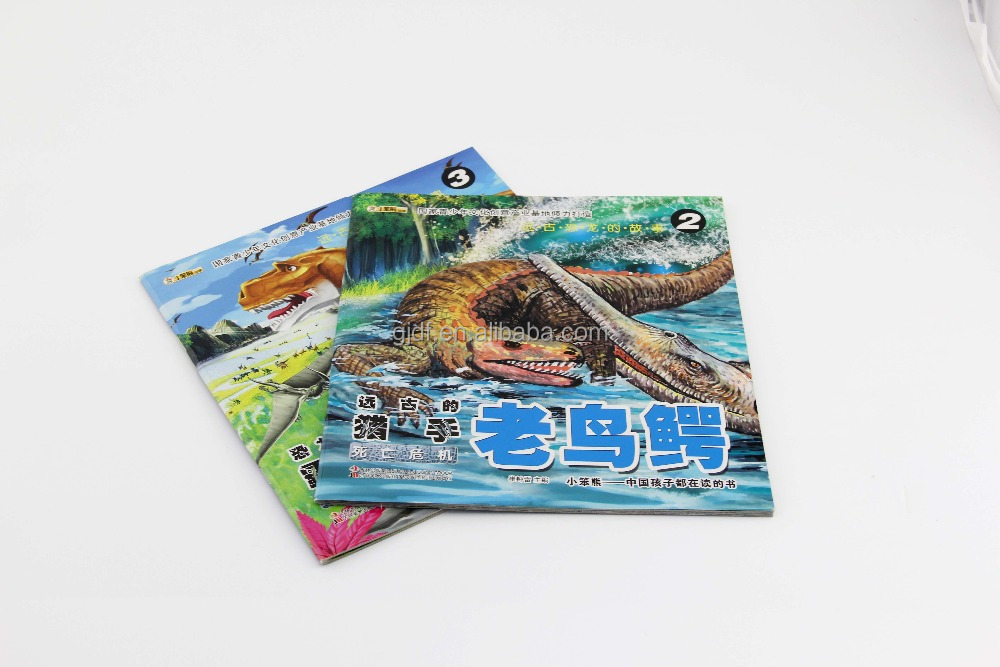 soft cover saddle stitching coloring book for baby/adult printing