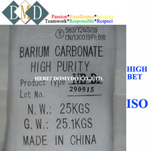 LCD glass substrate uses of barium carbonate price 99.8% baco3 513-77-9 powder manufacture supplier