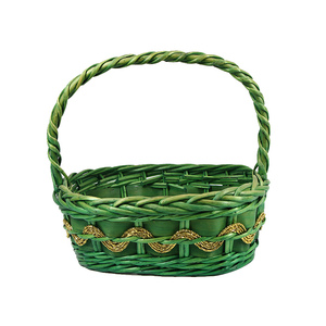 Home Decoration Use Handwoven Christmas Cheap and Large Wicker Baskets