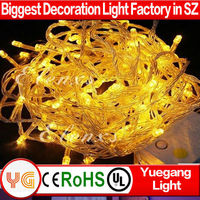 CE ROHS approved 30m 300leds low voltage 9color outdoor waterproof IP44-65 christmas light set