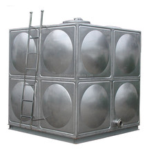 SUS304 stainless steel water tank/factory manufacture for homes underground fish farm prices 5000 liter price