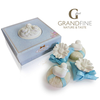 2016 new bath set gift scened soap & plaster fragrance set with gift box for promotional beauty gifts