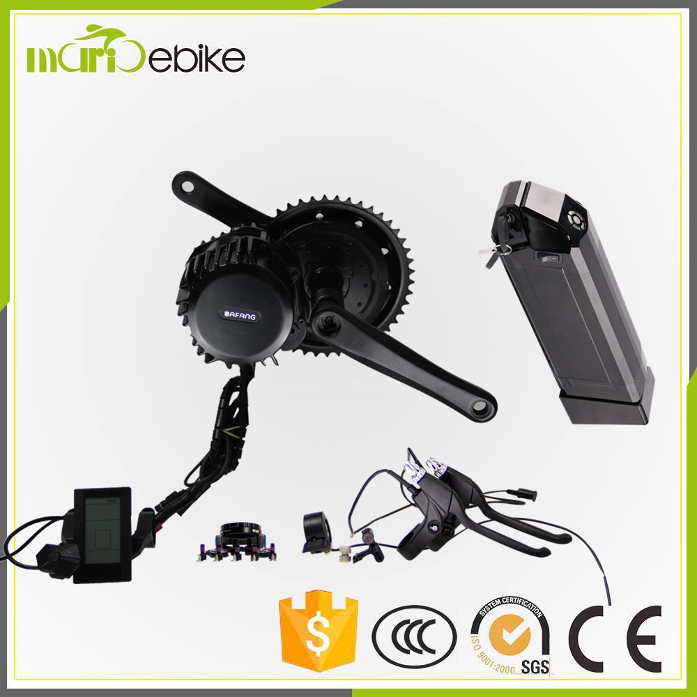 Bafang BBS02 750w mid crank kit with 48v 11.6ah Li-ion Dolphin battery