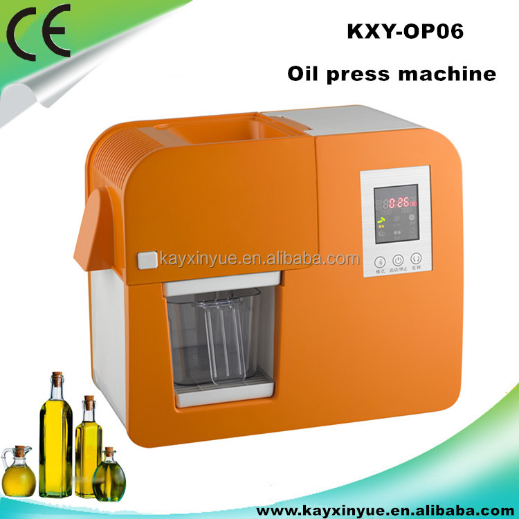 Factory hot sales portable flaxseed oil press machine