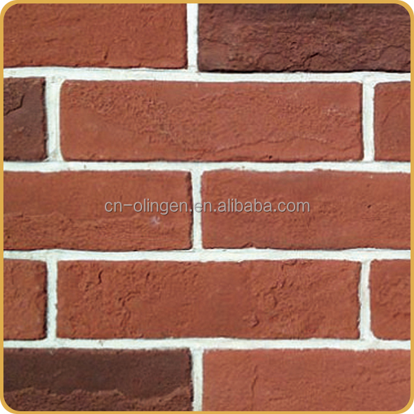 Cement clay facing tile fake brick veneer