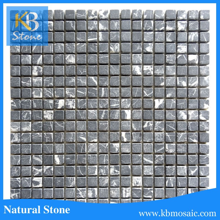 Great Varieties tumbled natural marble mosaic tile